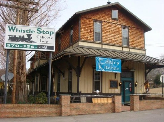 Catawissa Lodge Caboose : Edith's Kitchen Daily Lunch, Dinner, and Soup specials  (570) 356-7096