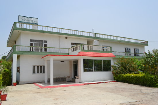 Hotel Green House: Front View
