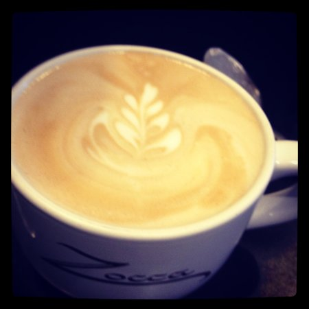 Zocca Coffee : My Latte was delicious!