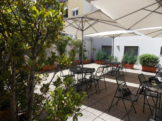 Hotel Travel Park : terrasse commune