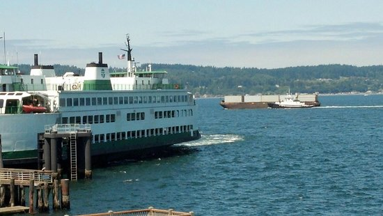 Silver Cloud Inn Mukilteo – Waterfront: View from our room