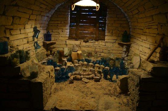 Castle Zaman - the basement