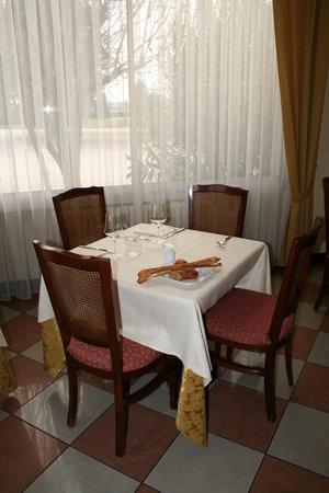 Edelweiss: tavolo