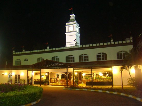 Lotus Desaru Beach Resort: Reception Building from Back