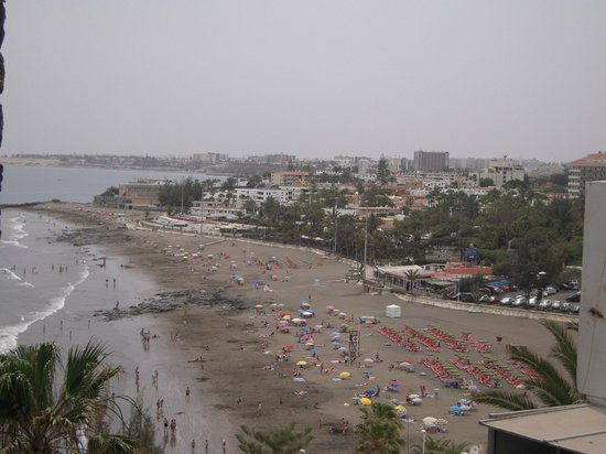Playa de San Agustin : Вид на пляж