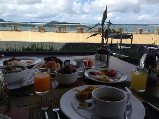 Kalima Resort & Spa: breakfast with a view