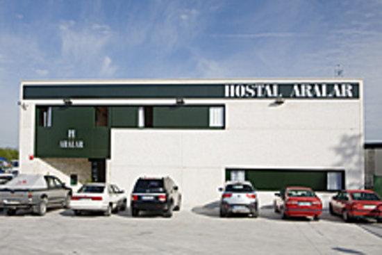 Hostal Aralar: ENTRADA HOSTAL