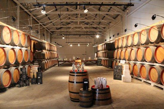 Wine Divas Tour: Rosemount Cellar Door Last stop of the day.