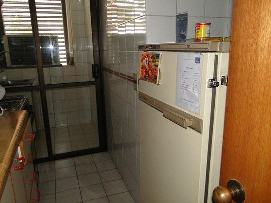 Presidente Edificio Santiago: cozinha e área de serviço