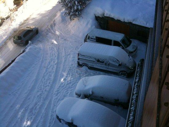 Hotel La Pineta: Parcheggio