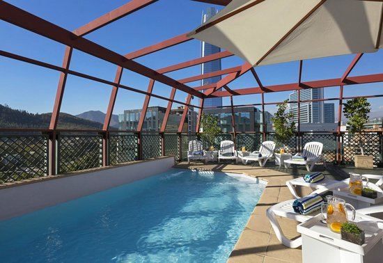 Four Points by Sheraton Santiago: Rooftop Pool