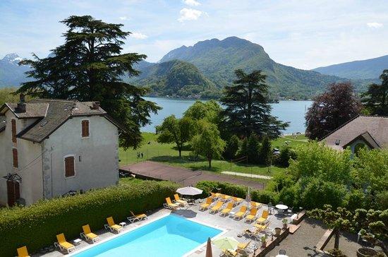 Hotel du Lac : vue de la suite junior