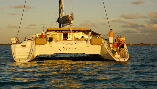 Caribbean Emerald Yacht Charter - Day Tours: Captain Vincent Catamaran - Relaxing Sunset
