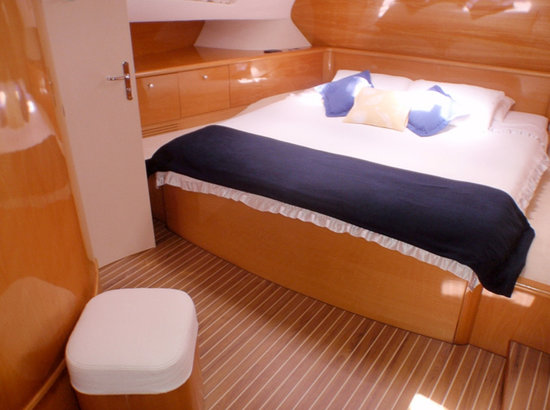 Caribbean Emerald Yacht Charter - Day Tours: Captain Vincent Catamaran - Bedroom