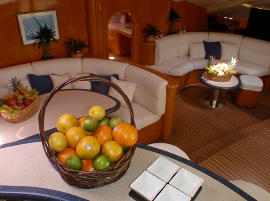 Caribbean Emerald Yacht Charter - Day Tours: Captain Vincent Catamaran - Dining Place