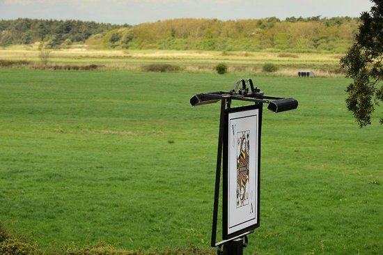 The Victoria Inn: View over Holkham Nature Reserve