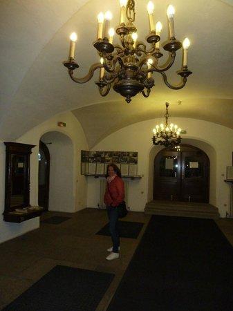 Hotel Wilder Mann: Gangen in oude stijl
