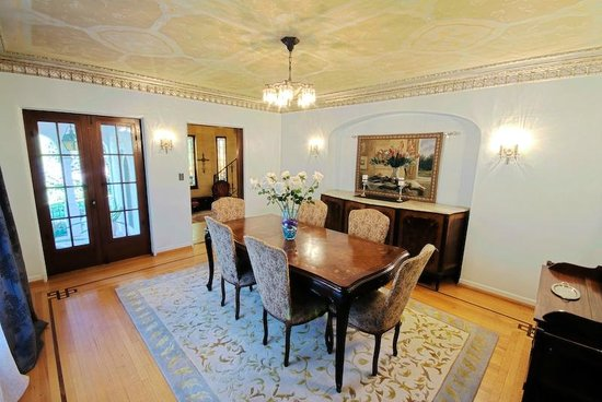 Acacia Mansion : The Dining Room