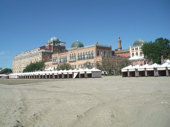 Hotel Excelsior Venice Lido Resort From Beach