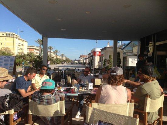 Bar Gioia: Niente stress, buon' cafe'. Ma il Monte mi manca... ;-)