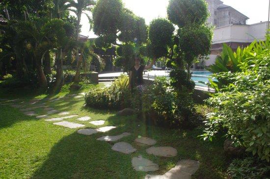 The Sunan Hotel Solo : Swimming pool area