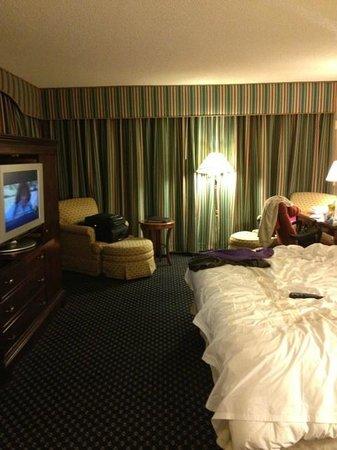 Marriott St. Louis Airport: Corner room