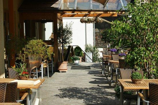 Hotel Dehren : Terrasse