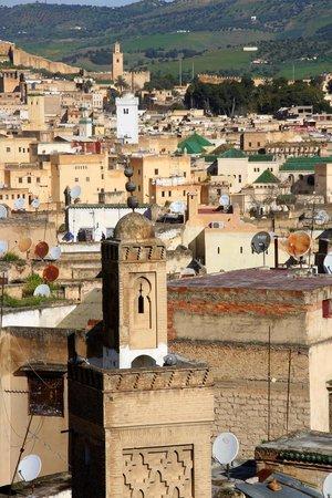 Riad Le Calife: Fès vue de la terrasse