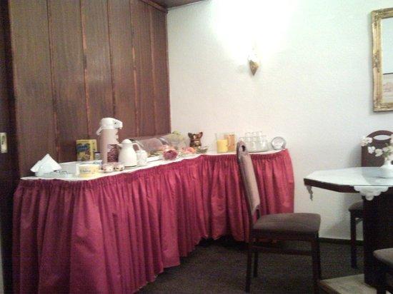 Novalis Hotel: breakfast tedesco