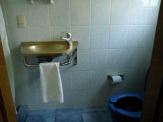 Asi Es Mexico Hosteria : baño