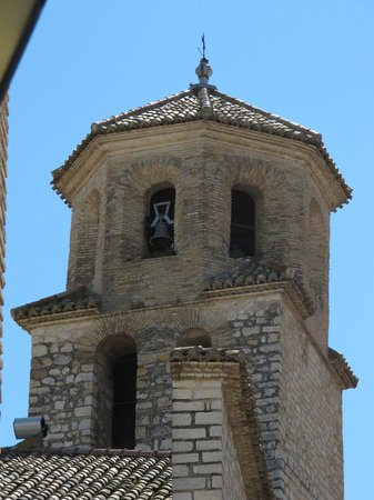 Detalle de la Iglesia de la Magdalena.