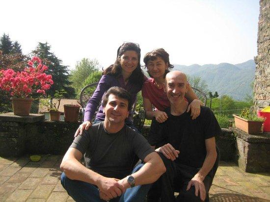 Organic B&B Il Melograno Nano: Che bella famiglia !