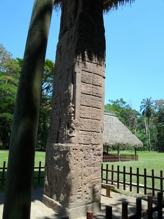 Archaeological Park and Ruins of Quirigua: monolith
