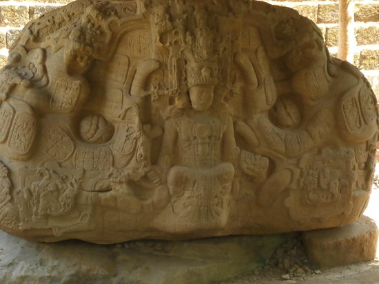 Archaeological Park and Ruins of Quirigua: carved stone