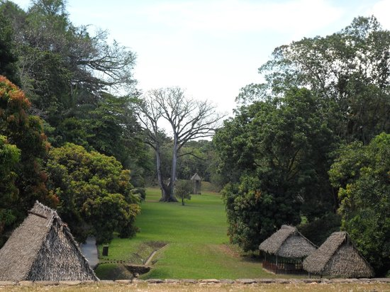 Archaeological Park and Ruins of Quirigua: view from the top of the plaza