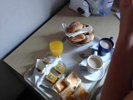 Auditorium di Mecenate: breakfast