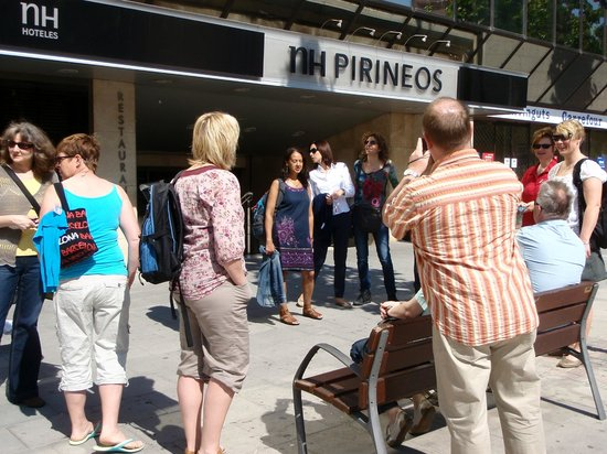 NH Lleida Pirineos: from the front