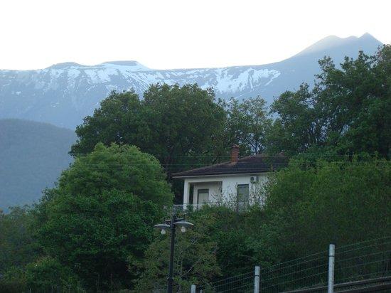 Antico Borgo Petralia: uitzicht op de Etna