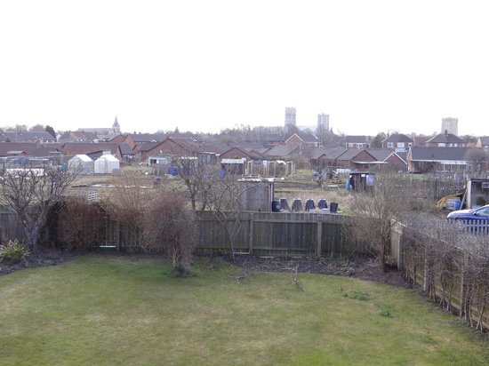 The Allotment House: View from bedroom