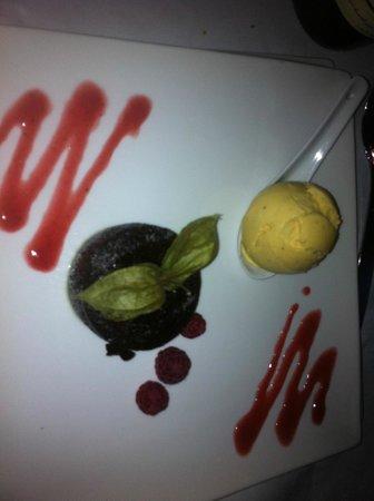 Grand Hotel Les Lecques : moelleux au chocolat