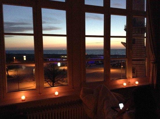 Hotel Am Leuchtturm: Ausblick