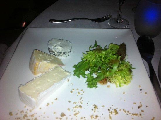 Grand Hotel Les Lecques: assiette de fromage