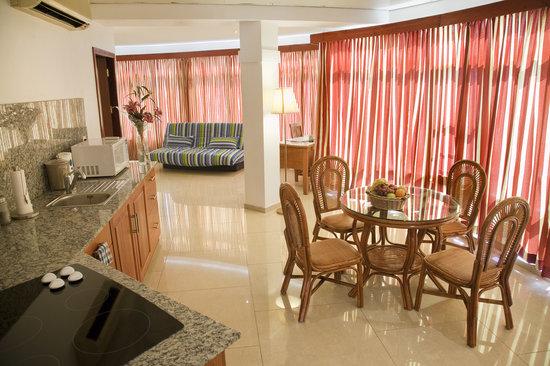 Spanhoek Boutique Hotel : Suite living room