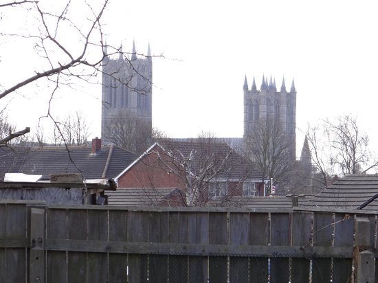 The Allotment House : Cathedral view from dining room