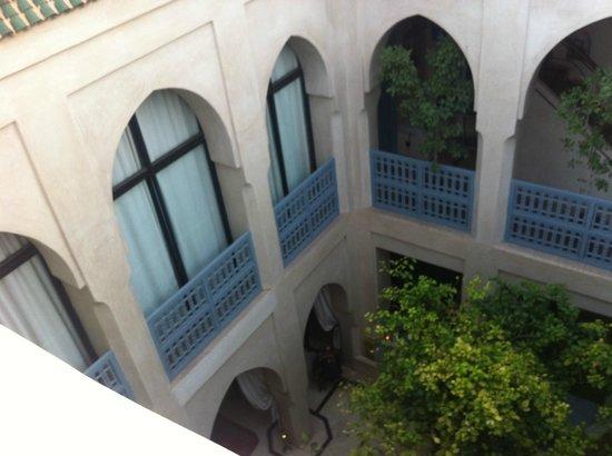 Riad Misria: vue de la terrasse
