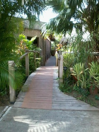 Kariwak Village Holistic Haven and Hotel: Bridge to haven