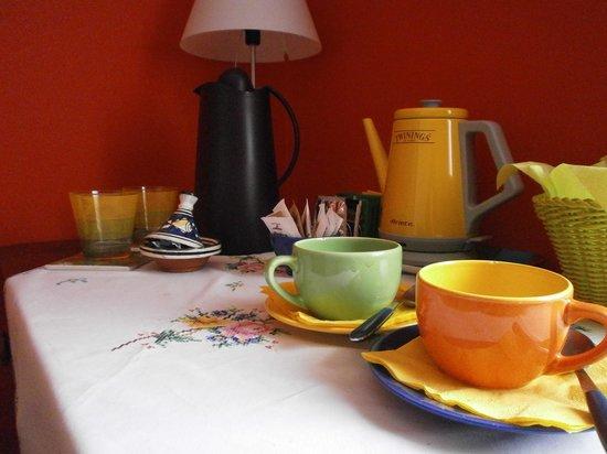 B&B Il Ghiro: colazione di coretesia in camera: NOTATE LA CURA PER I DETTAGLI!