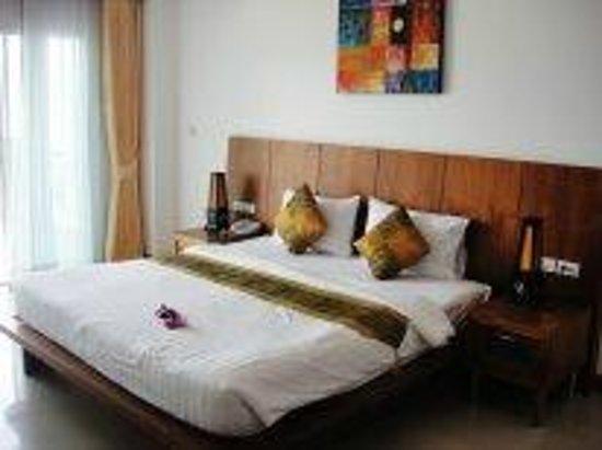 Tri Trang Beach Resort: Наш номер.