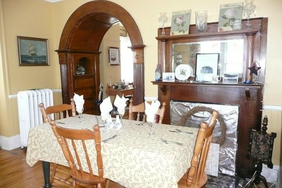 The Thorndyke Bed and Breakfast: Dinning Room