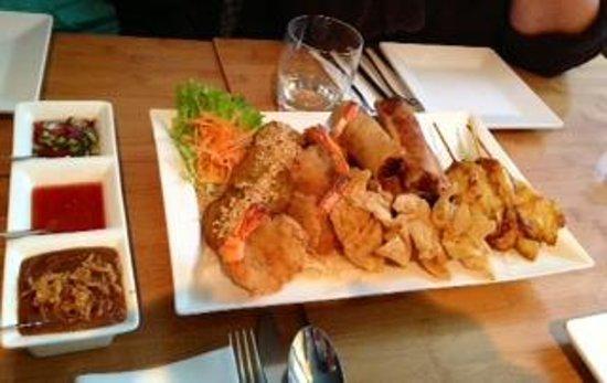 Kinnaree Thai Cuisine: auf Wunsch zusammengestellte Vorspeise